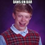 Fille d'un bar