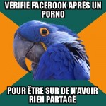 Facebook et porno