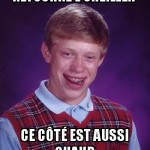 Bad luck oreiller