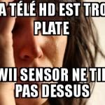Wii et télé