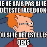 Facebook ou pas
