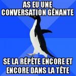 Conversation gênante