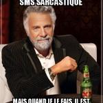 SMS sarcastique