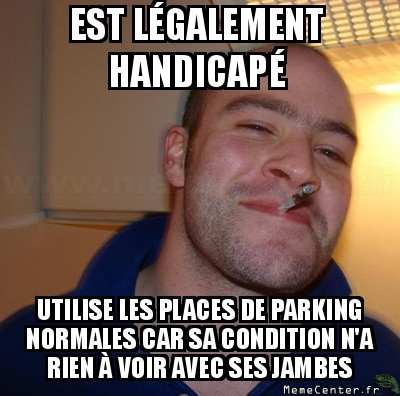 Good guy handicapé