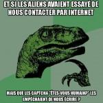 Des aliens sur internet