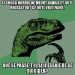 Chuck Norris est un paradoxe