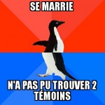 Le marriage ...
