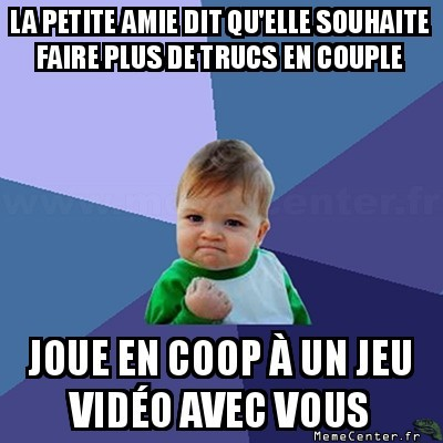 Plus de choses en couple