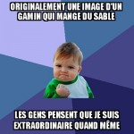 L'origine du meme success kid