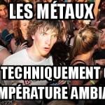 Les métaux
