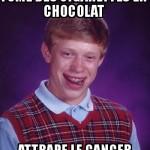 Cigarette en chocolat