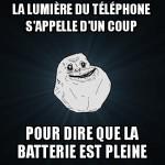 Lumière du téléphone