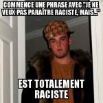 Phrase raciste