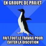 En groupe de projet