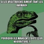 Ah les végétariens