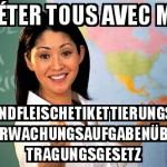L'allemand, quand çà nous tient...