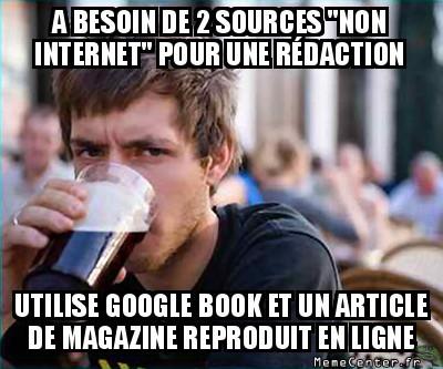Des sources papier
