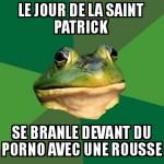 A la saint patrick