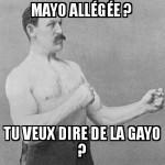 Mayo allégée