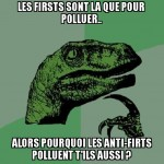 "Les ""firsts"" et ""anti-firsts"""