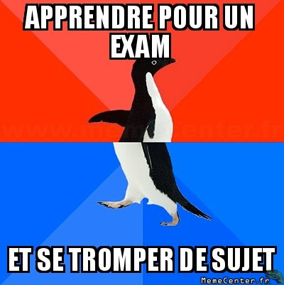 Mauvais exam