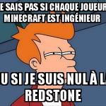 Mincraft redstone