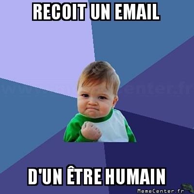 Pas un spam !