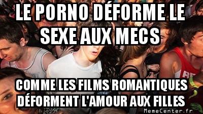 Pornos ou films romantiques