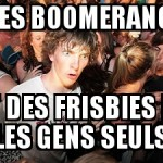 Boomerang ou freesbie