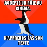 Pingouin au cinéma
