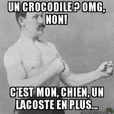 Un crocodile ?