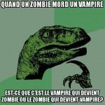 les vampires et zombies