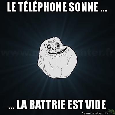 le téléphhone sonne