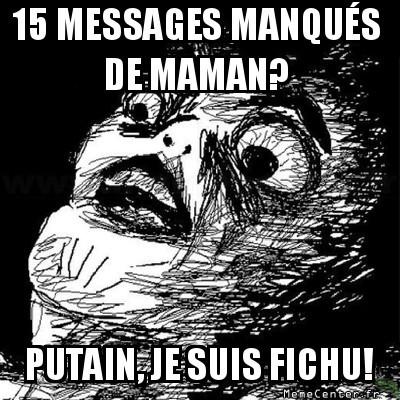 messages manqués