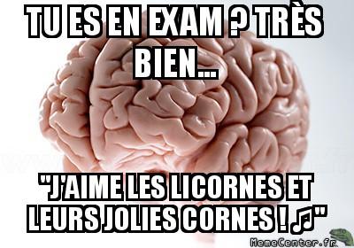 Examen...