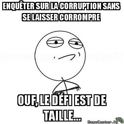 Enquêter sur la corruption