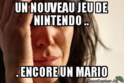 Nintendo sadness