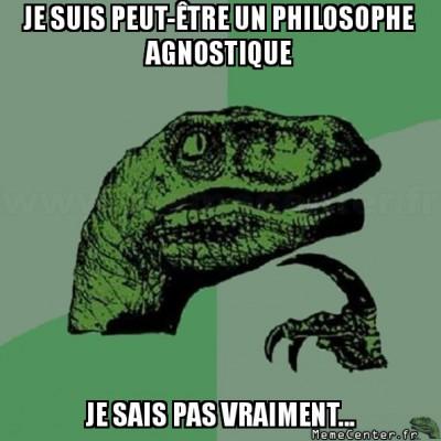 Philosophe agnostique