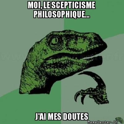 Scepticisme philosophique