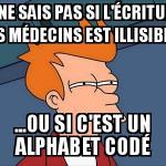 L'écriture des médecins