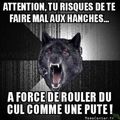 Attention aux bobos !