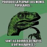 Le Français est une langue morte