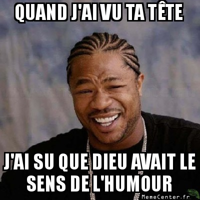 Tête d'humour